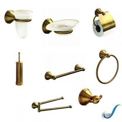 set-accessori-bagno-serie-romance-ottone-bronzato-gedy