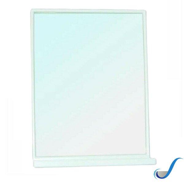 Specchio Bagno 60 X 60.Specchio Bagno Rettangolare Con Mensola Senza Luci Cm 45 X 60 Gedy