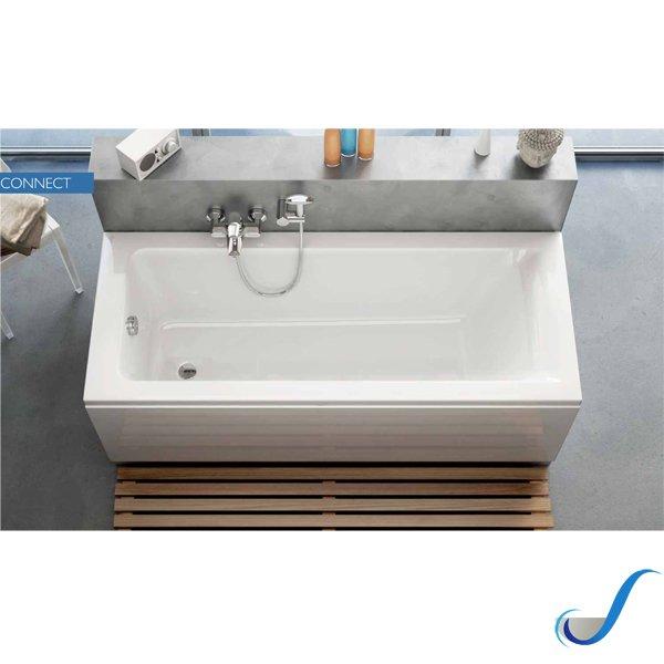 Vasca Da Bagno 120x70 Ideal Standard.Vasca Da Bagno Rettangolare In Acrilico Serie Connect Ideal Standard