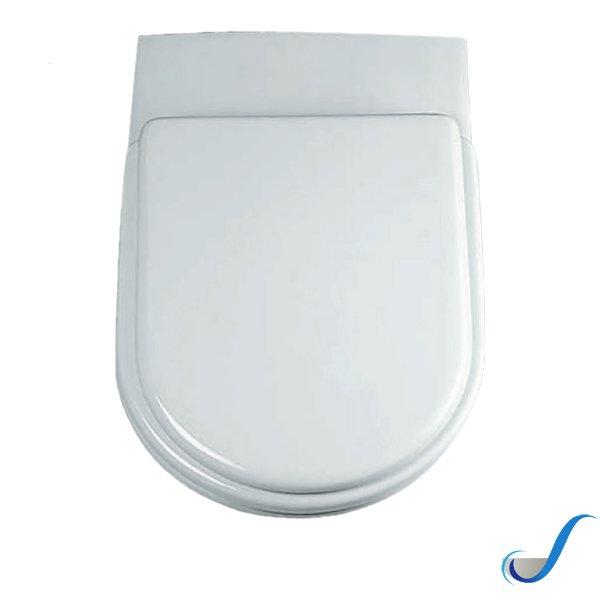Sedile Per Vaso Tesi Ideal Standard.Sedile Copri Wc Per Vaso Serie Tesi Originale Ideal Standard Solimando Forniture
