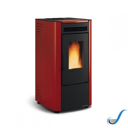 STUFA A PELLET KETTY KW 7,3 GRIGLIA GHISA NORDICA EXTRAFLAME