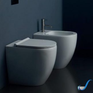 VASO IN CERAMICA FORM SQUARE FILO MURO RIMFREE ALICE CERAMICA