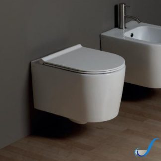 VASO SOSPESO IN CERAMICA FORM SQUARE RIMFREE ALICE CERAMICA
