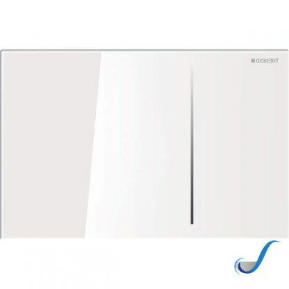 PLACCA DI COMANDO SIGMA70 GEBERIT -vetro-bianco-